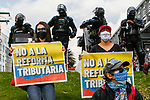 National strike in Colombia against tax reform