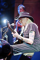 Johnny Winter performing at Voodoo Lounge of Harrah's Casino in Maryland Heights, MO on Sept 2, 2010.
