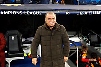 Galatasaray's coach Fatih Terim  during UEFA Champions League match, groups between Real Madrid and Galatasaray SK at Santiago Bernabeu Stadium in Madrid, Spain. November, Wednesday 06, 2019.(ALTERPHOTOS/Manu R.B.)<br /> Champions League 2019/2020  <br /> Real Madrid - Galatasaray<br /> Foto Alterphotos / Insidefoto <br /> ITALY ONLY