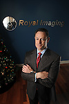 Vice president Brian Loeb at Royal Imaging Thursday Dec. 16, 2010.(Dave Rossman/For the Chronicle)