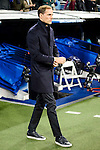 Borussia Dortmund coach Thomas Tuchel during the UEFA Champions League match between Real Madrid and Borussia Dortmund at Santiago Bernabeu Stadium in Madrid, Spain. December 07, 2016. (ALTERPHOTOS/BorjaB.Hojas)