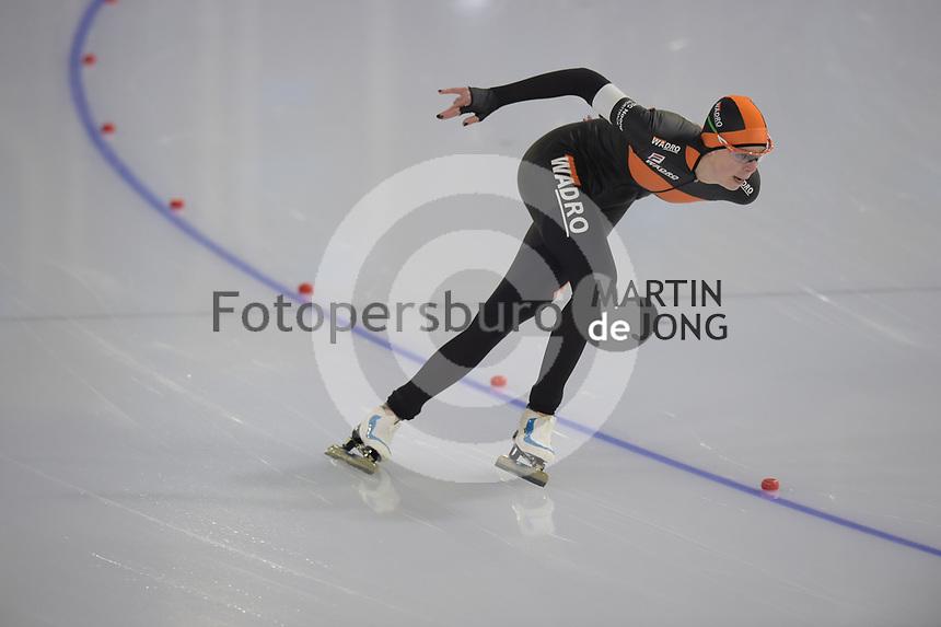 SCHAATSEN: HEERENVEEN: 28-12-2020, IJsstadion Thialf, WK Kwalificatie, Gioya Lancee, ©foto Martin de Jong