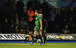 Connacht's Jake Heenan goes off injured<br /> Guiness Pro12<br /> Cardiff Blue v Connacht<br /> BT Sport Cardiff Arms Park<br /> 06.03.15<br /> ©Ian Cook -SPORTINGWALES