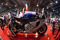VALENCIA, SPAIN - NOVEMBER 7: Yamaha R1 during DOS RODES at Feria Valencia on November 7, 2015 in Valencia, Spain