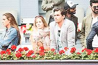 Patricia Montero and Alex Adrover during Mutua Madrid Open Tennis 2016 in Madrid, May 07, 2016. (ALTERPHOTOS/BorjaB.Hojas) /NortePhoto.com