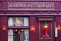 Amérique/Amérique du Nord/Canada/Québec/Montréal: Hôtel-Restaurant: dans la Maison Pierre du Calvet, rue Bonsecours, Vieux-Montréal,  et Rue Saint-Paul