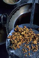 Asie/Inde/Rajasthan/Udaipur: Marché Mandi - Détail beignets aux légumes
