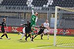 Hendrik Bonmann (Nr.39, Wuerzburger Kickers) pariert einen Eckball  beim Spiel in der 2. Bundesliga, SV Sandhausen - Wuerzburger Kickers.<br /> <br /> Foto © PIX-Sportfotos *** Foto ist honorarpflichtig! *** Auf Anfrage in hoeherer Qualitaet/Aufloesung. Belegexemplar erbeten. Veroeffentlichung ausschliesslich fuer journalistisch-publizistische Zwecke. For editorial use only. For editorial use only. DFL regulations prohibit any use of photographs as image sequences and/or quasi-video.