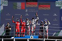 PODIUM LMGTE PRO<br /> #92 PORSCHE GT TEAM (DEU) - PORSCHE 911 RSR-19 LMGTE PRO - KEVIN ESTRE (FRA) / NEEL JANI (CHE)<br /> #51 AF CORSE (ITA) - FERRARI 488 GTE EVO - LMGTE PRO-ALESSANDRO PIER GUIDI (ITA)/JAMES CALADO (GBR)<br /> #92 PORSCHE GT TEAM (DEU) - PORSCHE 911 RSR-19 LMGTE PRO - KEVIN ESTRE (FRA) / NEEL JANI (CHE)