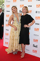 CHLOE GRACE MORETZ AND AUTHOR SUSANNAH CAHALAN - RED CARPET OF THE FILM 'BRAIN ON FIRE' - 41ST TORONTO INTERNATIONAL FILM FESTIVAL 2016 IN TORONTO, 16/09/2016. # FESTIVAL INTERNATIONAL DU FILM DE TORONTO 2016