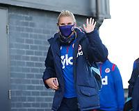 Kristine Leine of Reading arrives to the stadium during Tottenham Hotspur Women vs Reading FC Women, Barclays FA Women's Super League Football at the Hive Stadium on 7th November 2020