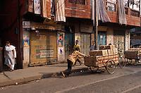 Indien, Kalkutta (Kolkata), Lastkarren