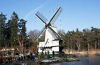 Nederland - Arnhem  - 17 december 2017.  Molen in het Nederlands Openluchtmuseum. Landleven Winter evenement.  Foto Berlinda van Dam / Hollandse Hoogte.