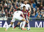 Barcelona´s Neymar Jr during La Liga match in Santiago Bernabeu stadium in Madrid, Spain. March 23, 2014. (ALTERPHOTOS/Victor Blanco)