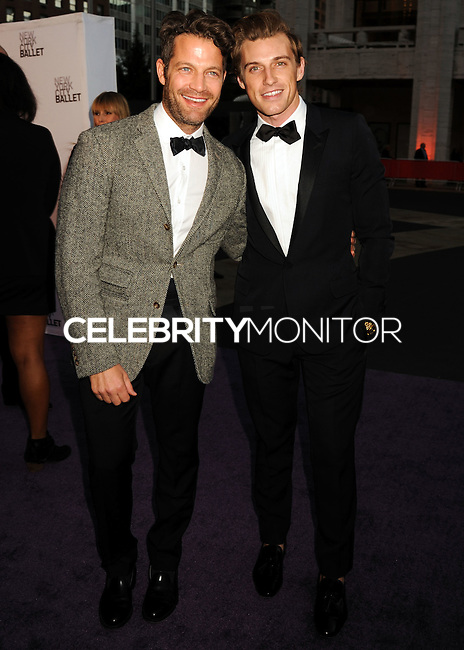 NEW YORK CITY, NY, USA - SEPTEMBER 23: Nate Berkus, Jeremiah Brent arrives at the New York City Ballet 2014 Fall Gala held at the David H. Koch Theatre at Lincoln Center on September 23, 2014 in New York City, New York, United States. (Photo by Celebrity Monitor)