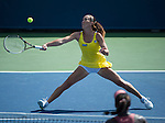 Jelena Jankovic (SRB) defeats Sloane Stephens (USA) 7-6, 6-4 at the Western & Southern Open in Mason, OH on August 14, 2014.