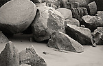 Beach & Rocks, Gulangyu, Xiamen, China.