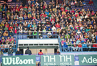 29-01-2014,Czech Republic, Ostrava,  Cez Arena, Davis-cup Czech Republic vs Netherlands, practice, Lots of school kids where attending the wednesday afternoon practice session of their team.<br /> Photo: Henk Koster