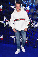 Jonas Blue<br /> arriving for the Global Awards 2020 at the Eventim Apollo Hammersmith, London.<br /> <br /> ©Ash Knotek  D3559 05/03/2020