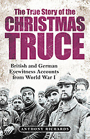 BNPS.co.uk (01202 558833)<br /> Pic: Pen&Sword/BNPS<br /> <br /> Pictured: The front cover of 'The True Story of the Christmas Truce'.<br /> <br /> Previously unseen accounts of the First World War Christmas Day truce from the German side have come to light over 100 years on.<br /> <br /> British historian Anthony Richards has pored over hundreds of German diaries to shed new light on the temporary ceasefire in 1914.<br /> <br /> The fascinating accounts include one by a soldier who described the truce as a 'miracle' and called enemy troops his 'brothers'.