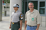 JSA Soldier & David Barron, Panmunjeom, Joint Security Area