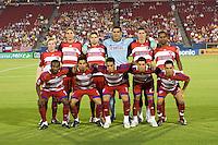 FC Dallas Starting Eleven Columbis Crew VS FC Dallas at Pizza Hut Park Frisco, Texas August-30-2008 Final Score 2-1