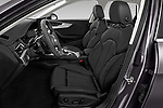 Front seat view of a 2020 Audi A4-Allord Base 5 Door Wagon front seat car photos