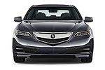 Car photography straight front view of a 2015-2017 Acura TLX Technology 4 Door Sedan