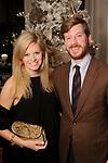 Sarah and Travis Covington at the M.D. Anderson Santa's Elves party Thursday Dec. 07,2017. (Dave Rossman Photo)