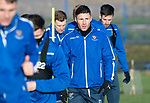 St Johnstone Training…17.01.20<br />Michael O'Halloran pictured during training this morning at McDiarmid Park ahead of tomorrow's Scottish Cup tie against Greenock Morton..<br />Picture by Graeme Hart.<br />Copyright Perthshire Picture Agency<br />Tel: 01738 623350  Mobile: 07990 594431