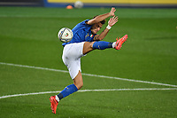 Ciro Immobile of Italy <br /> during the Uefa Nation League Group Stage A1 football match between Italy and Netherlands at Atleti azzurri d Italia Stadium in Bergamo (Italy), October, 14, 2020. Photo Andrea Staccioli / Insidefoto