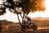 7th January 2021; Riyadh to Buraydah, Saudi Arabia; Dakar Rally, stage 5;  27 Rodrigues Joaquim (prt), Hero, Hero Motorsports Team Rally, Motul, Moto, Bike, action during the 5th stage of the Dakar 2021 between Riyadh and Buraydah, in Saudi Arabia on January 7, 2021