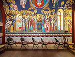 St. Sava Church at the monastery, Libertyville, Illinois.<br /> <br /> Iconography written by Miloje Milinkovic