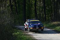 23rd April 2021; Zagreb, Croatia; WRC Rally of Croatia, stages 1-8;  Nikolay Gryazin - Volkswagen Polo GTI WRC2