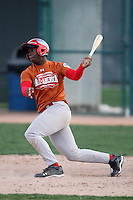 January 16, 2010:  Sean Washington (Houston, TX) of the Baseball Factory Texas Team during the 2010 Under Armour Pre-Season All-America Tournament at Kino Sports Complex in Tucson, AZ.  Photo By Mike Janes/Four Seam Images