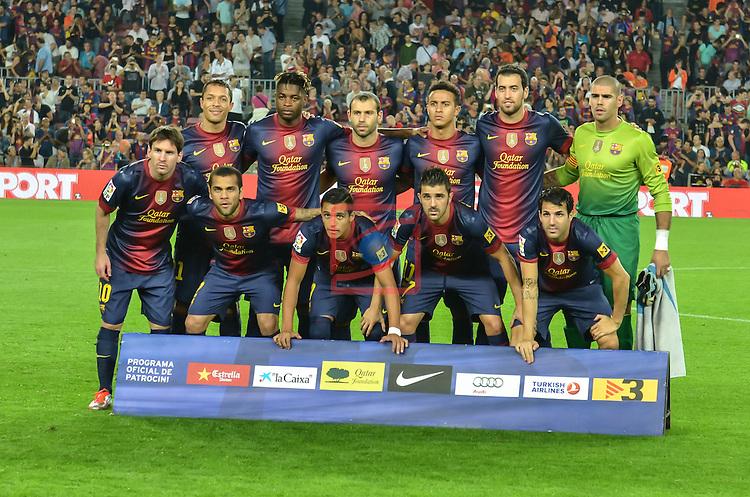 Fc Barcelona Vs Granada Cf 2 0 Lfp Game 5 Silver Press Agency