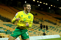 2nd January 2021; Carrow Road, Norwich, Norfolk, England, English Football League Championship Football, Norwich versus Barnsley; Emi Buendia of Norwich City celebrates after he scores for 1-0 in the 62nd minute