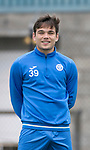 St Johnstone Training…12.05.17<br />Aaron Comrie pictured during training today ahead of tomorrow's game against Partick Thistle<br />Picture by Graeme Hart.<br />Copyright Perthshire Picture Agency<br />Tel: 01738 623350  Mobile: 07990 594431