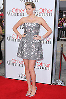"""WESTWOOD, LOS ANGELES, CA, USA - APRIL 21: Kate Upton arrives at the Los Angeles Premiere Of Twentieth Century Fox's """"The Other Woman"""" held at the Regency Village Theatre on April 21, 2014 in Westwood, Los Angeles, California, United States. (Photo by Xavier Collin/Celebrity Monitor)"""