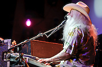 Leon Russell in concert at Voodoo Lounge of Harrah's Casino in Maryland Heights, MO on Sept 24, 2010.