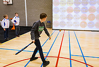 Den Bosch, The Netherlands, Februari 9, 2019,  Maaspoort , FedCup  Netherlands - Canada, playground<br /> Photo: Tennisimages/Henk Koster