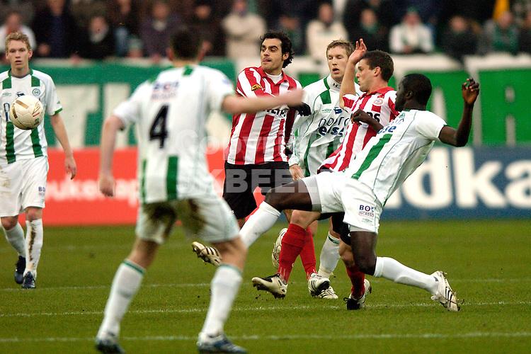 fc groningen -psv eredivisie seizoen 2007-2008 26-12- 2007.fotograaf Jan Kanning *** Local Caption ***