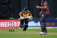 Amelia Kerr bats during the women's Dream11 Super Smash cricket match between the Wellington Blaze and Northern Spirit at Basin Reserve in Wellington, New Zealand on Friday, 3 January 2020. Photo: Dave Lintott / lintottphoto.co.nz