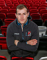 Monday 6th January 2020 | Ulster Rugby Match Briefing<br /> <br /> Will Addison during the Ulster Rugby Match Briefing held at Kingspan Stadium, Ravenhill Park, Belfast, Northern Ireland and of their Heineken Champions Cup Pool 3, Round 5, clash with Clermont in France this weekend. Photo by John Dickson / DICKSONDIGITAL