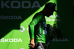 Peter Sagan (SVK) Bora-Hansgrohe retains the points Green Jersey at the end of Stage 11 of the 2019 Tour de France running 167km from Albi to Toulouse, France. 17th July 2019.<br /> Picture: ASO/Alex Broadway   Cyclefile<br /> All photos usage must carry mandatory copyright credit (© Cyclefile   ASO/Alex Broadway)