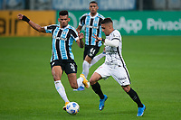 28th August 2021; Arena do Gremio, Porto Alegre, Brazil; Brazilian Serie A, Gremio versus Corinthians; Rodrigues of Gremio and Gabriel of Corinthians