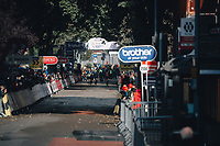 5th October 2021, AJ Bell  Womens  Cycling Tour, Stage 2,  Walsall to Walsall. Amy Pieters wins stage 2 of the women's tour.