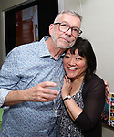 Sam Rudy and Ann Harada during the Retirement Celebration for Sam Rudy at Rosie's Theater Kids on July 17, 2019 in New York City.