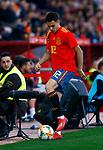 Spain's Sergio Reguilon  during the International Friendly match on 21th March, 2019 in Granada, Spain. (ALTERPHOTOS/Manu R.B.)