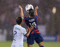 EAST HARTFORD, CT - JULY 1: Carli Lloyd #10 of the USWNT controls the ball during a game between Mexico and USWNT at Rentschler Field on July 1, 2021 in East Hartford, Connecticut.